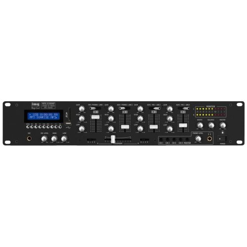 Stereo Mixer - Stereo Dj Mixer With Integrated Mp3 Player And Bluetooth Receiver