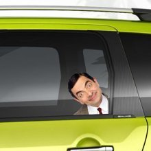 Mr Bean Funny Man on Board Car Sticker Graphic Vinyl Decal Gift Home