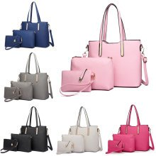 Miss Lulu 3pcs Shoulder Handbag Cross Body Bag Purse