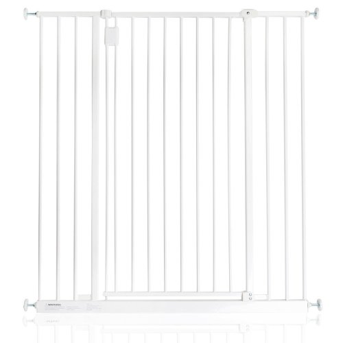 Safetots Extra Tall Hallway Gate White 97cm - 103cm