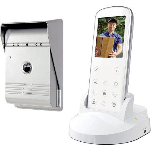 Smartwares VD36W Video intercom set – Wireless – Portable indoor unit