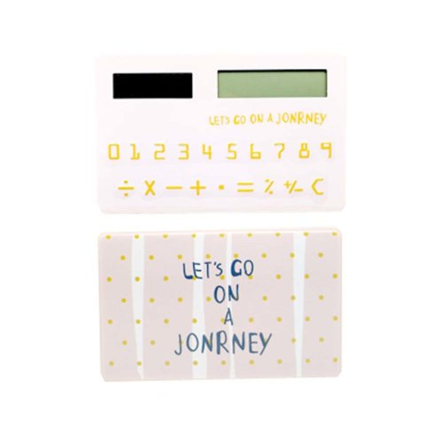 Ultra - thin Cute Mini Office Student Portable Calculator/Kids toys,A8
