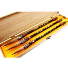 Wolf Hair Brush Set Calligraphy Brush Painting Brush Writing Brush