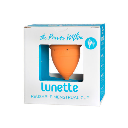 Lunette  Menstrual Cup Orange Model 1 Single