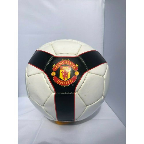 Man United Hy-pro Riptide Football - White Size 5 Football