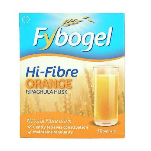 Fybogel Hi-Fibre Orange 10 Sachets