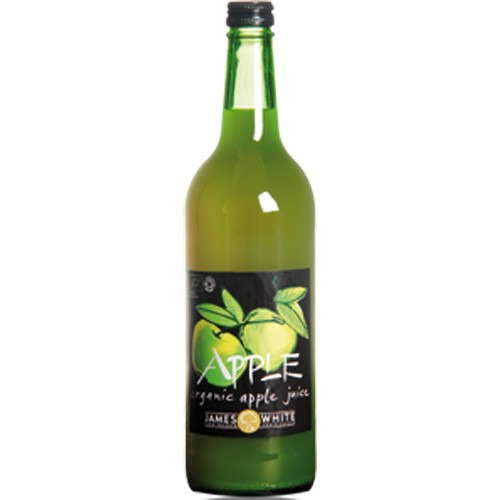 James White Organic Apple Juice 750ml