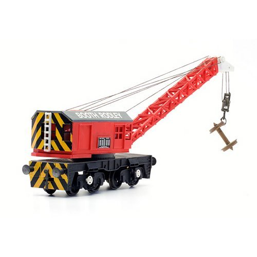 15 Ton Hydraulic Diesel Crane - Dapol Kitmaster C028 - OO plastic wagon kit