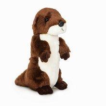Mini Flopsie - River Otter 8in - Aurora Plush Cuddly Soft Toy Teddy New Kids -  aurora plush cuddly soft toy teddy new mini flopsie kids gift brand