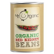 Mr Organic Organic Red Kidney Beans 400g Tin