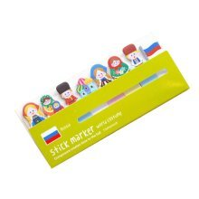 Set of 4 Cute Useful Sticky Notes Memo Pad Note Pads Marker Pads Green