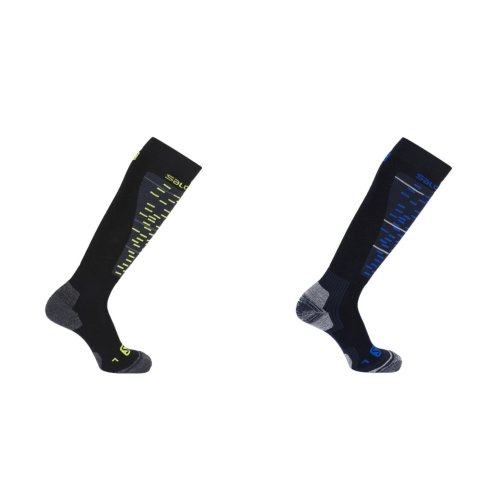 Salomon Unisex Mission Shinebone Protector Socks