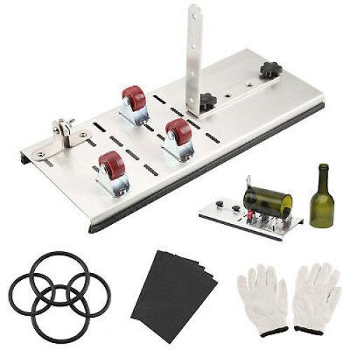 Wine/Glass Bottle Cutter Cutting Machine Tool Set DIY glass sculpture art UK