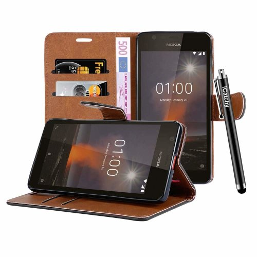 For Nokia 1 Plus 2019 Leather Wallet Case Cover