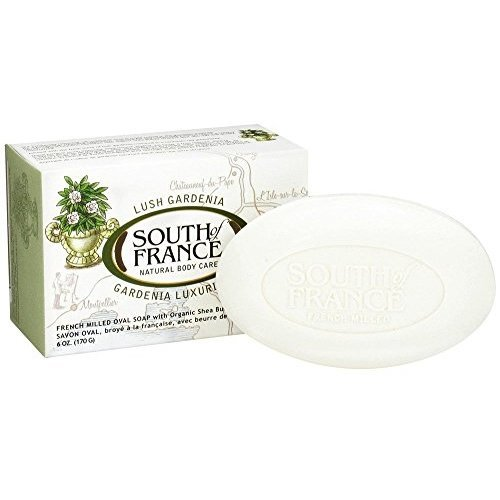 South Of France Milled Bar Soap, Gardenia, 6 Ounce