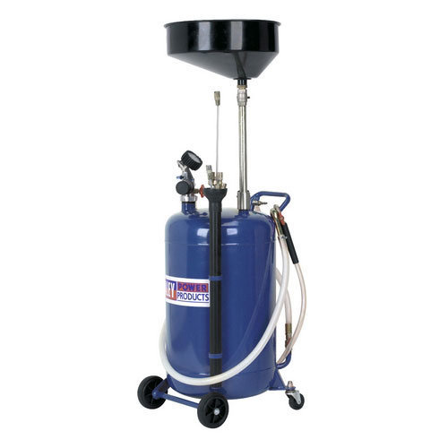 Sealey AK459DX 90ltr Air Discharge Mobile Oil Drainer with Probes