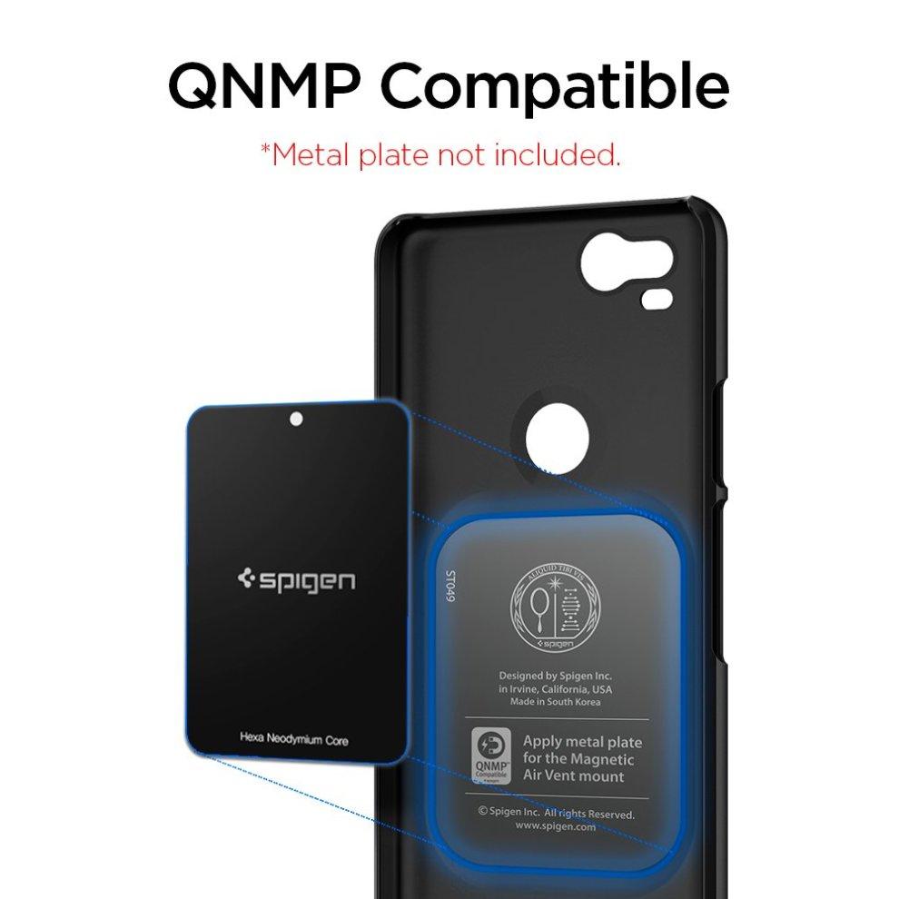 the best attitude c279f c5d03 Google Pixel 2 Case, Spigen [Thin Fit] [Black] Pixel 2 Case Premium Matte  Finish Coating Slim Protection Phone Case Cover for Pixel 2 (2017) (Not...