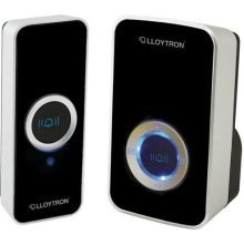 Lloytron 32-Melody Mains Plug-In Wireless Door Chime with MiPs - Black (B7505BK)