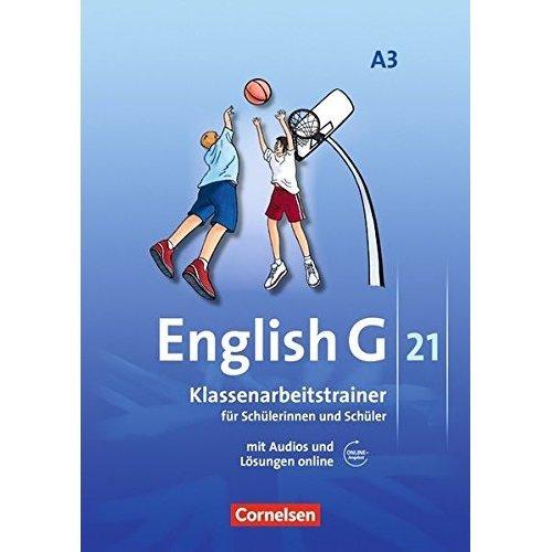 English G 21. Ausgabe A 3. Klassenarbeitstrainer mit Audios und Lösungen online: 7. Schuljahr