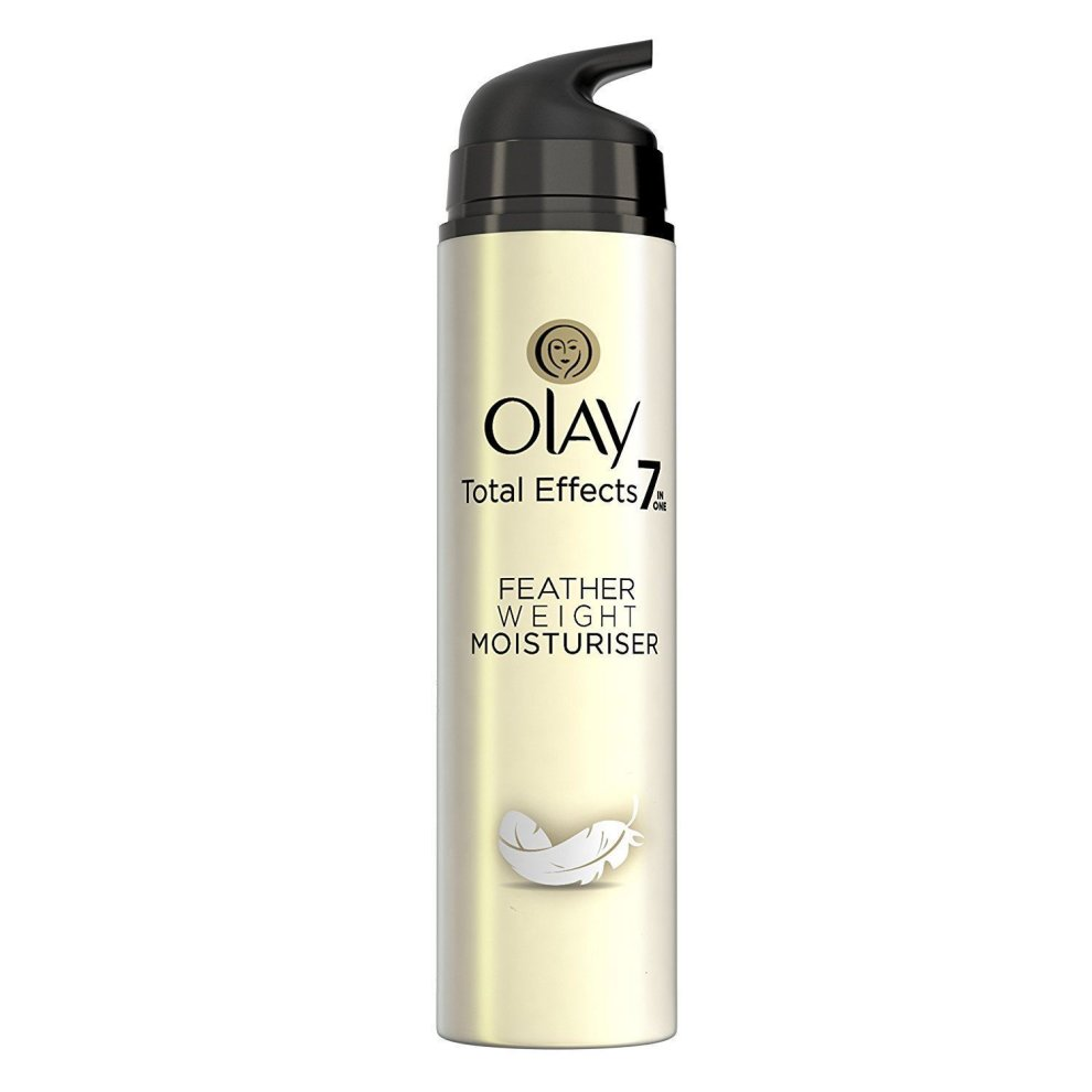 Olay Total Effects Featherweight Moisturiser 7 In 1 Spf15 Anti 7in1 Ageing Serum 50ml Cream