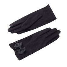 Womans Black [Miss] Short Warm Gloves Party Driving Wedding Dance Winter Gloves