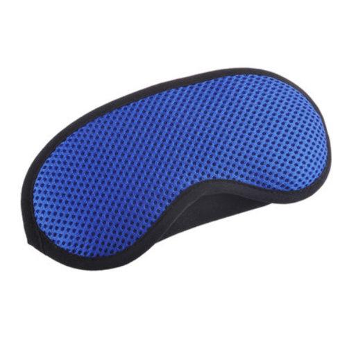 Breathable Adjustable Eye Mask Eye-shade Relaxing Sleeping Eye Cover-Blue
