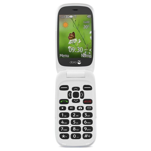Doro 6530 SIM-Free Mobile Phone - Black/White