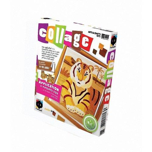 Elf887005 - Fantazer - Wood Collage - the Tiger