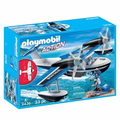 Playmobil 9436 Action Police Seaplane