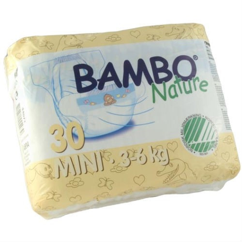 Beaming Baby Bambo Mini Nappies 30's
