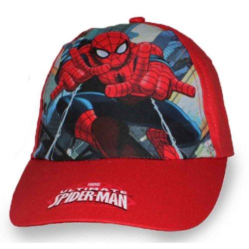Spiderman Baseball Cap - Red