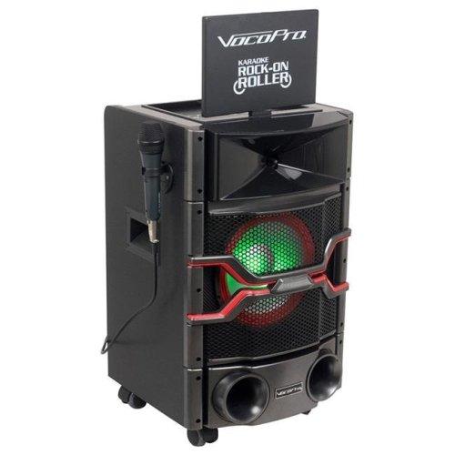 VocoPro KARAOKEONROLLER All-in-one Karaoke System with Display Monitor