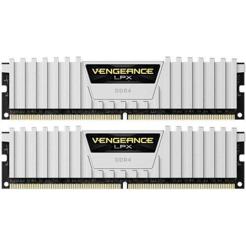 Corsair Vengeance LPX 16Gb (2x8Gb) DDR4 3000MHz Kit - White