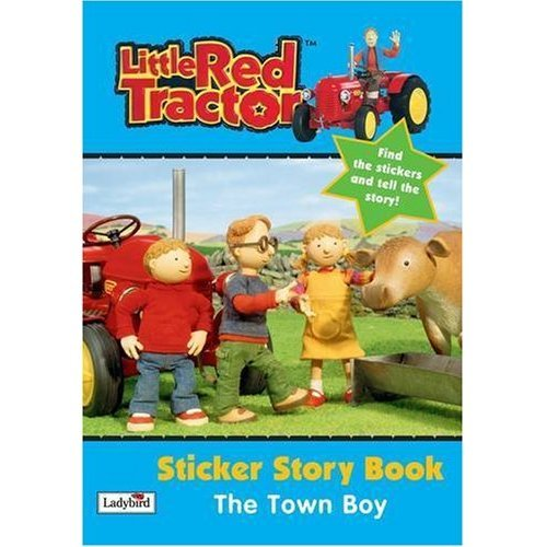 Little Red Tractor - Sticker Story Book