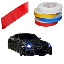 Motorcycle Car Automotive Reflective Tape Car Vehicle Reflective Decals Red