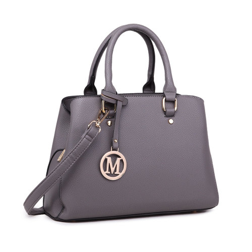 Miss Lulu Women Leather Handbag Shoulder Bag Tote with Multi Compartments