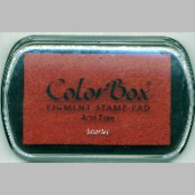 ColorBox Pigment Ink Pad-Scarlet