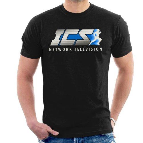 ICS Network Television The Running Man Men's T-Shirt
