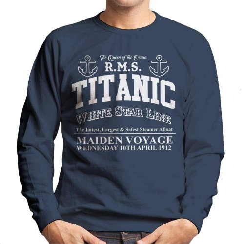 RMS Titanic Maiden Voyage Men's Sweatshirt