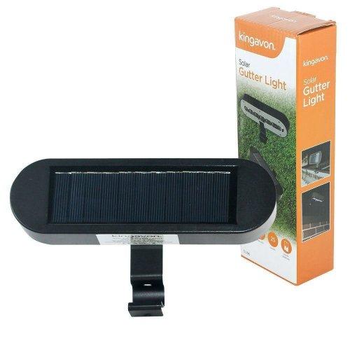 Kingavon Solar Gutter Light, Black