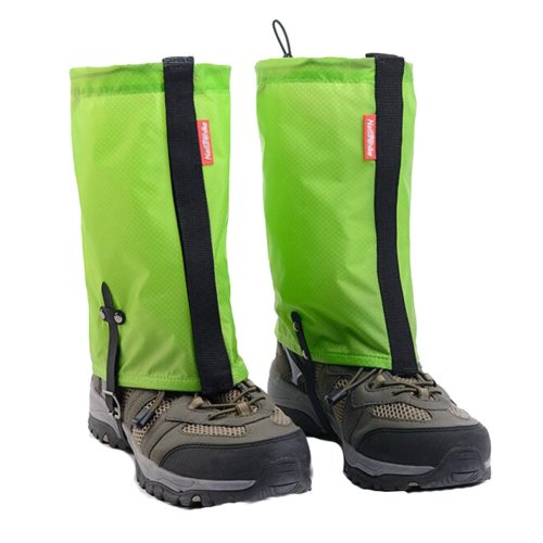 Waterproof Hiking/Climbing/Camping/Skiing Shoes Gaiters - M Green