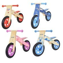 Deao Kids Wooden Balance Training Bike Cycle in Multiple Colours