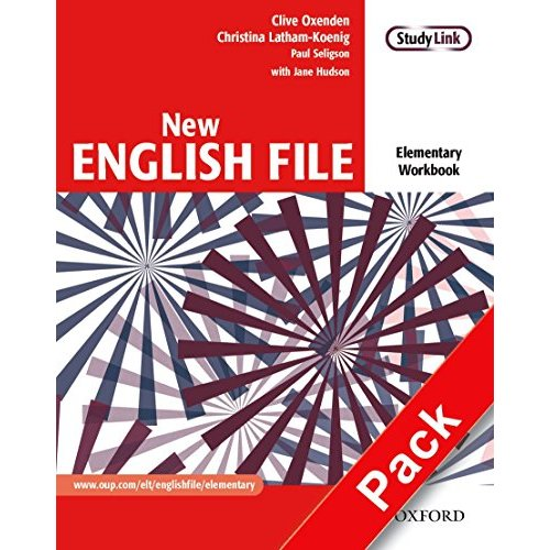 New English File: Elementary: Workbook with MultiROM Pack: Six-level general English course for adults: Workbook and MultiROM Pack Elementary level