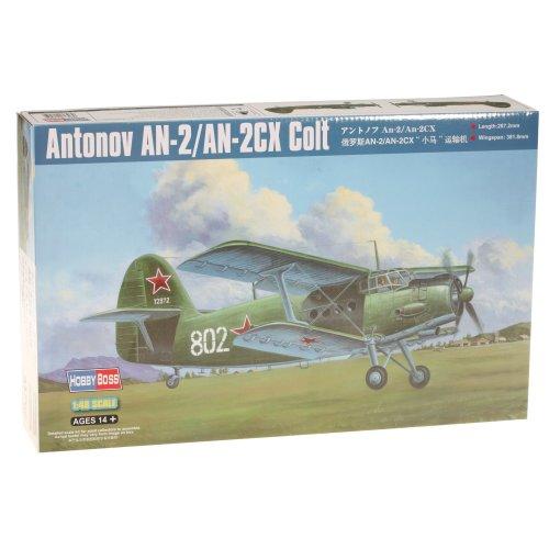 Hobbyboss 1:48 Scale AN-2/AN-2CX Model Kit (Grey)