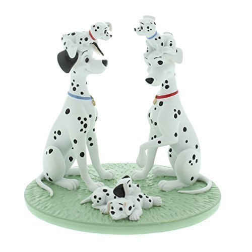 Disney Magical Moments - 101 Dalmatians One Big Happy Family Keepsake Figurine