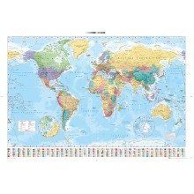 World Map 2015 Maxi Poster