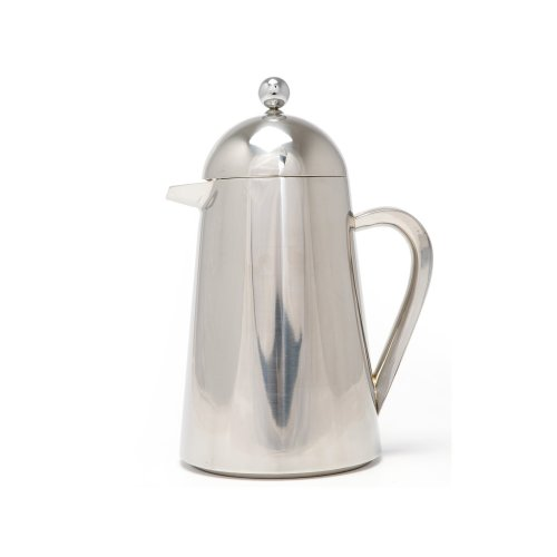 La Cafetiere Thermique Insulated 3-Cup Cafetiere French Press Coffee Maker, Steel