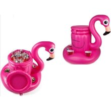 BigMouth Inflatable Floating Flamingo Multi Drinks Cooler Pool Float Beach Holiday Swimming Water Beach