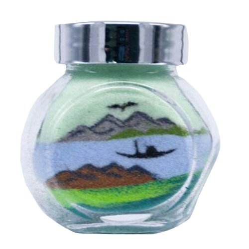 5.5*5 CM A Bottle of Sand Picture Sand Art Sand Game Supply