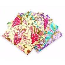 Fat Quarter Bundle - 100% Cotton - Venice - Pack of 6